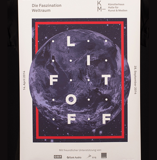 <em>Another example of letterspace used in graphic design</em>: <a href='https://www.behance.net/gallery/13562683/L-I-F-T-O-F-F'>Lift Off</a> by Joris Rigerl , Elias Tinchon , Christina Morell , Ivan Filippi and Martin Mackinger (Austria).